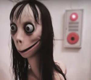El muñeco del Momo